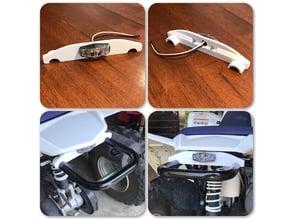 Suzuki z90 ATV LED Brake Light Mount