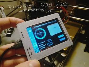 Robopeak USB LCD Case
