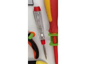 porte tournevis testeur, screwdriver holder