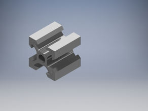 20MM V-Rail Extrusion (With CAD Files)