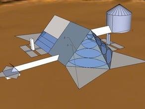 Mars Life Base