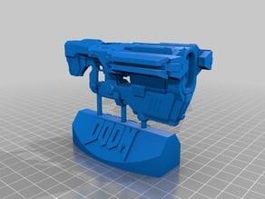 Doom (2016) BFG9000 gun & display stand