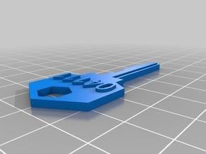 My Customized Safe / House / Padlock keys