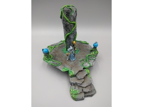 OpenForge - Place of Power - Carved Rock Pillar / Jungle