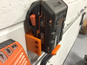 Battery Wall Mount