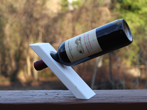 Floating Gravity Wine Bottle Holder - DEFY GRAVITY!