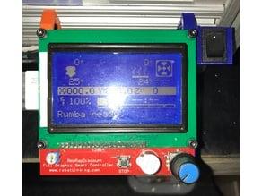 reprap 3d printer lcd mount