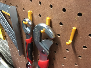 Pegboard Took Hook Plier Pliers Holder