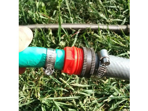 "Garden Hose Male to 1/2"" Barb for Hose Repair"