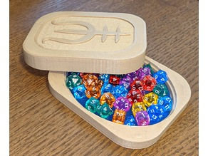 Magic Dicebox with Concealed Magnets