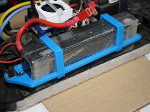 2s-LiPo holder, fits DF-Models Fighter Truggy