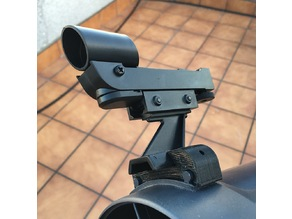 Celestron Astromaster 130 Red Dot Finder support