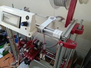 Filament guide for sigma3d printer