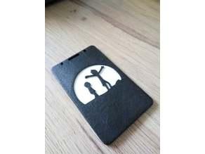 Rick & Morty ID Badge card holder (design 1)
