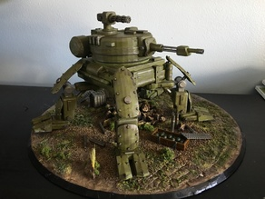 Light Armored Tank Walker