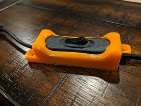 LED Light Strip switch mount