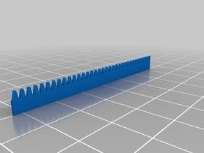 long lego gear rack