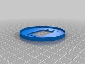 Custom shaped bokeh holder