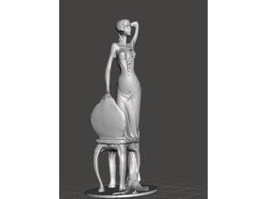 Vintage Girl statuette
