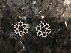 Snowflake Earrings 1