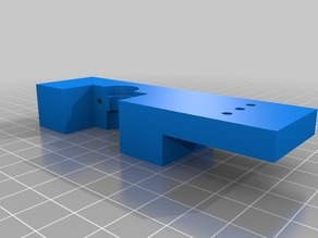 J-Head Mount and clamp for Direct drive extruder