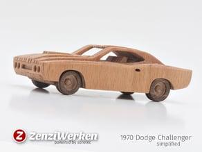 1970 Dodge Challenger  simplified cnc