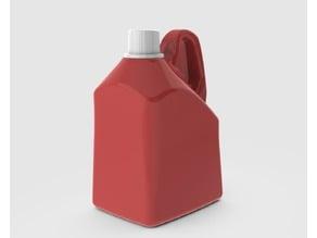 Detergent Bottle High Side Handle