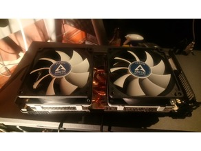 Gelid Icy Vision REV 2 92mm Fan Mount