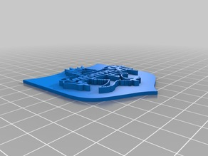Harry Potter Cookie Cutter Stamp for House Ravenclaw