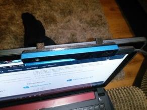 intel realsense notebook mount