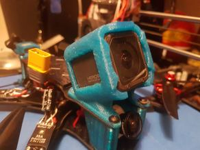 Realacc 4 / Martian IV / Reverb Clone - Gopro Session mount 30°