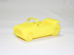Convertible Car Toy - LeFab Shop Remix