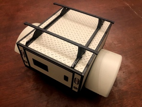 GH Scaler Trailer - Overland Utility Box Top with Racking