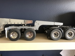 Lowboy jeep for RC4WD trailer, Tamiya Compatible 1/14