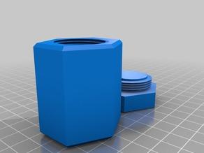 polygon screw container
