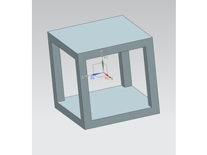 3d print test cube