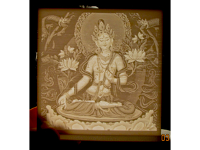 White Tara Lithophane