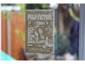 pulp fiction movie poster lithophane