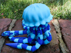 Articulated Jellyfish! Ball-joint articulated octopus Remix!