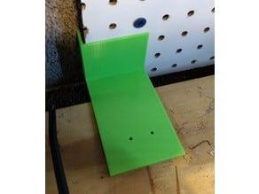 Workbench Back Board Gap Filler