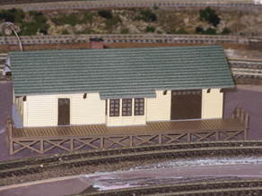 HO Scale Small Town Station