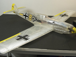 Me 109 T, RC, wing test part