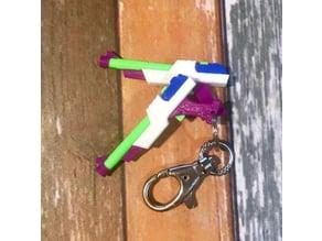 Miss Fortune Arcade Guns Keychain (LOL)