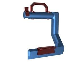 Prusa i3 MK2 Filament Holder and optional Filament Guide