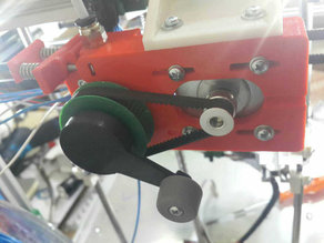 Belted Extruder v.3 60T Gear with Detachable Handle