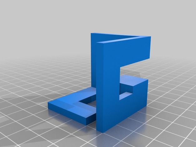Nintendo Gamecube Logo In 3d By Lazerlord Thingiverse