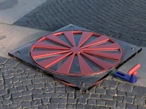 140mm Fan Louvers