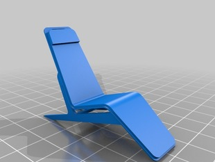 Scandinavian inspired lounge chair