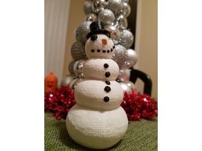 Happy Snowman Tealight