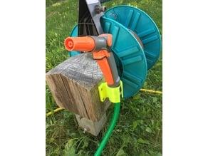 Garden Hose Nozzle Wallmount - fits Gardena